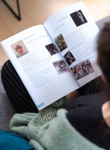 portraits d'élèves yearbook