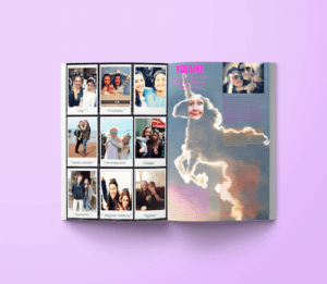 montage photos yearbook original