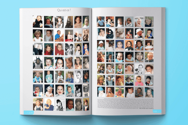 yearbook portraits eleves bebes