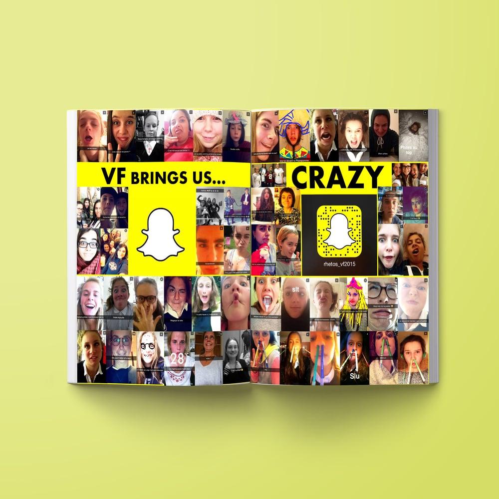 Rhéto book montage snapchat