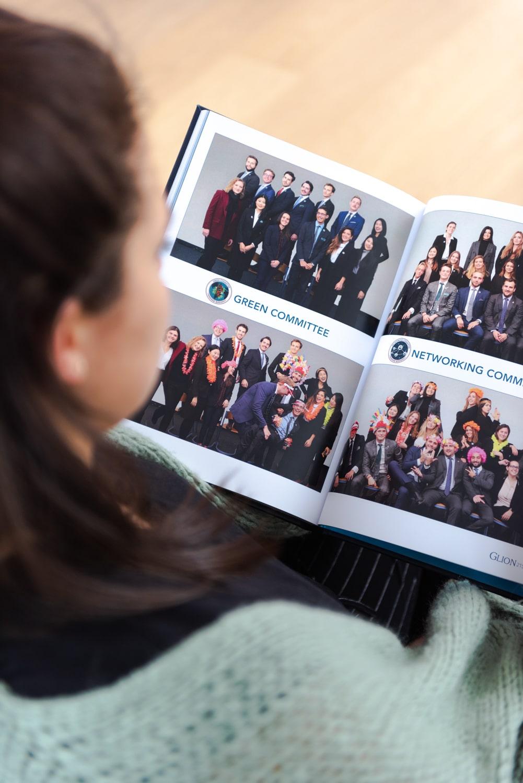Yearbook photos de classe