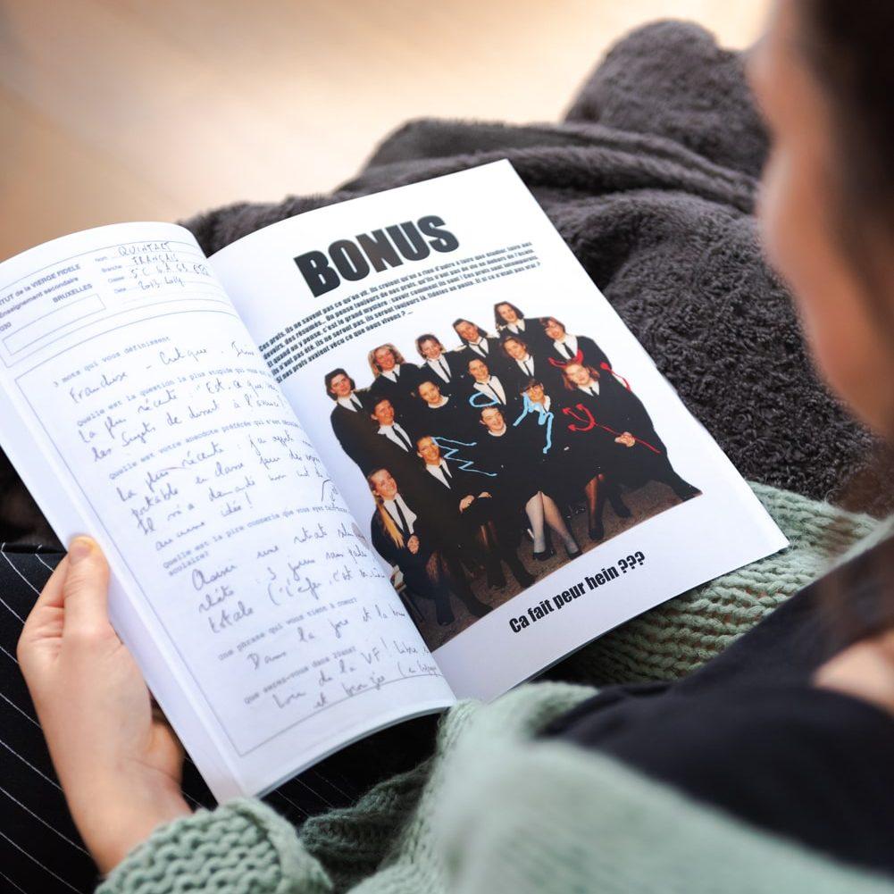 Yearbook section bonus