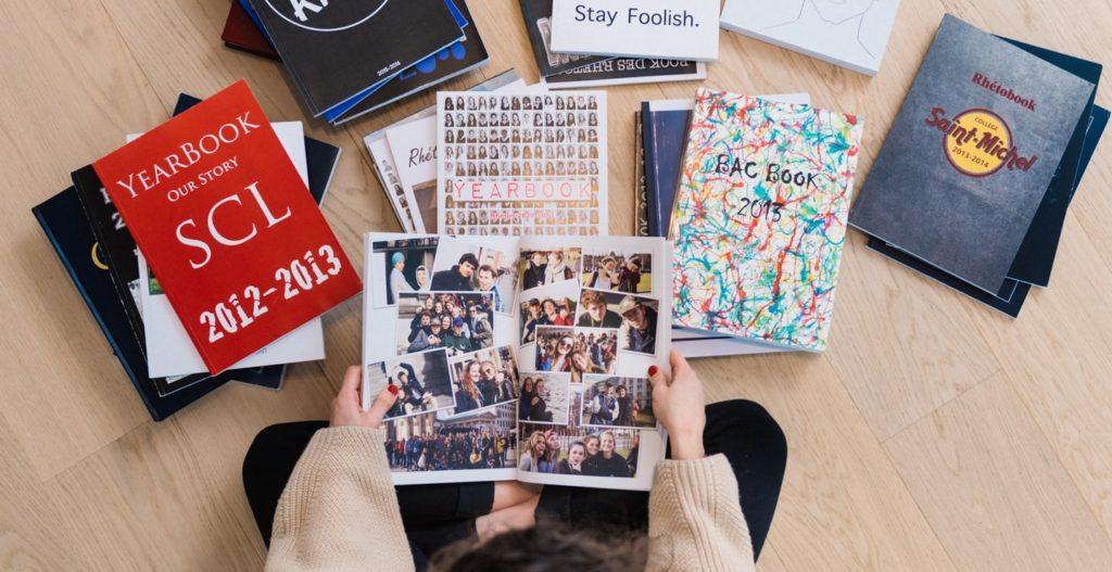 activité pour étudiants confinement créer un yearbook