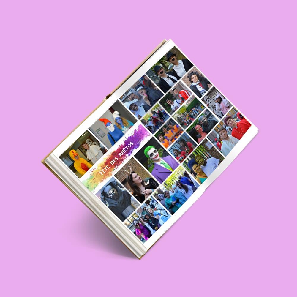 Bacbook montage photos