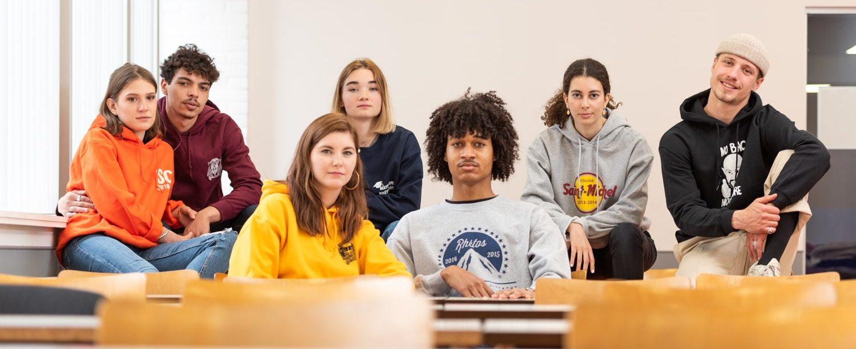 Impression de pulls étudiants en Belgique