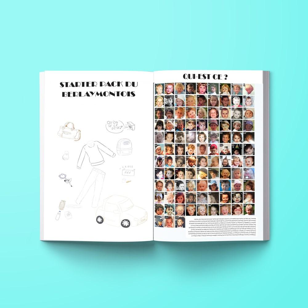 Yearbook en Belgique exemple