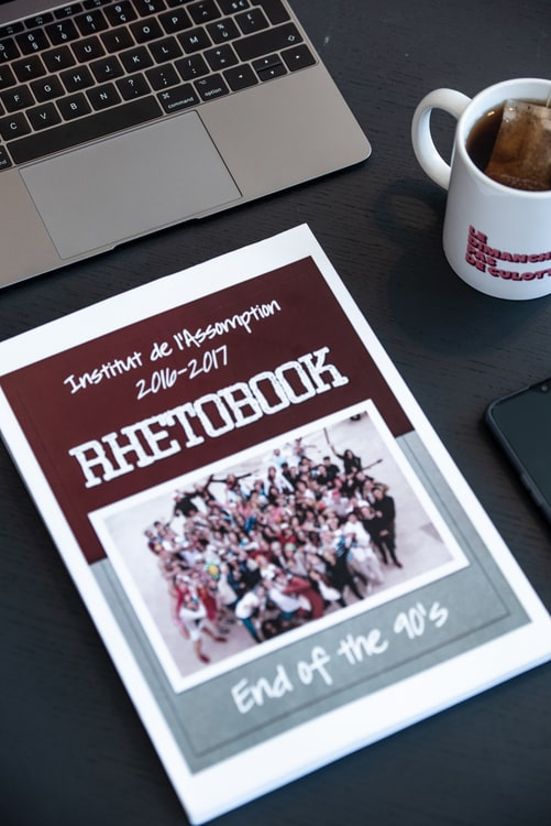 Yearbook design couverture