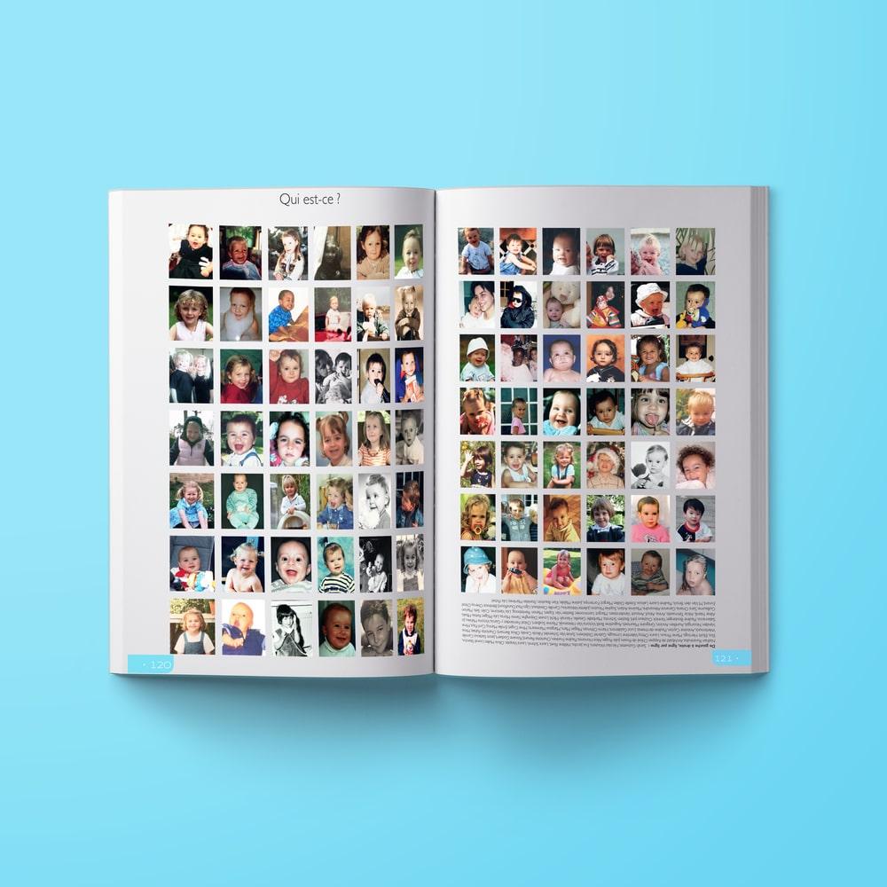 Yearbook élèves bébés