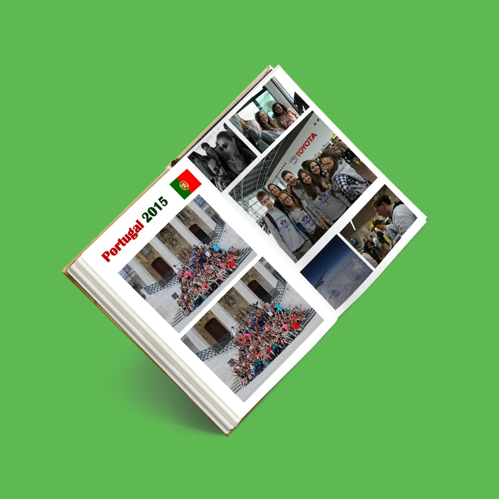 Yearbook exemple de section