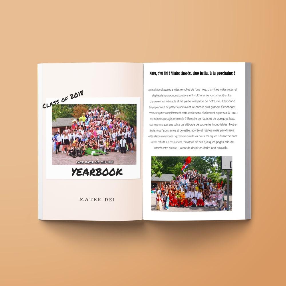 Yearbook exemples de photos