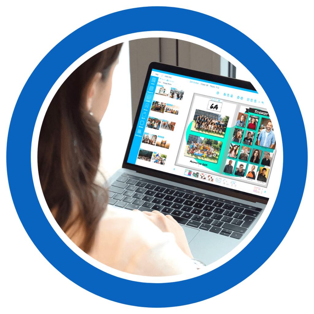 créer un yearbook en ligne avec une application