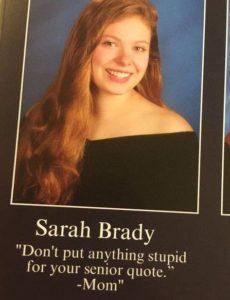 senior quote yearbook
