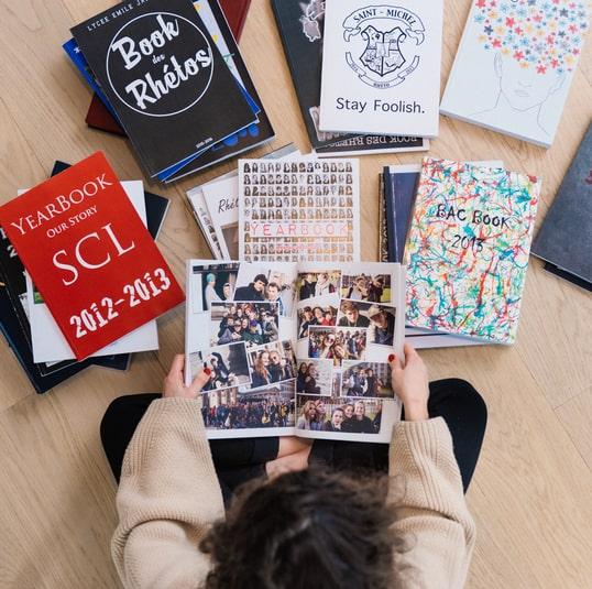 yearbook étudiant quarantaine belgique