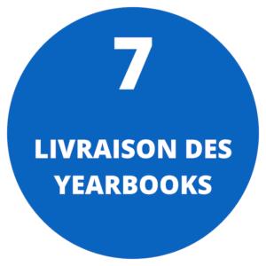 Livraison des yearbooks