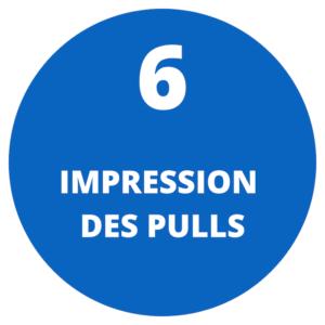 Impression des pulls