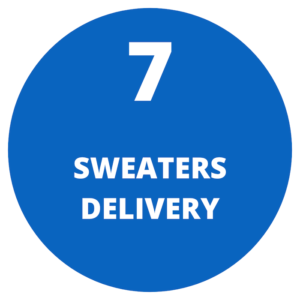 Sweaters delivery